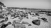 Sugar Sands . (wayman2011) Tags: fujifilmxc1650mmf3556 lightroomfujifilmxpro1 wayman2011 bw mono coast beach seaside rocks seascapes northumberland longhoughton uk