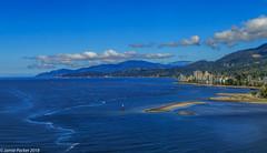 West Vancouver-Pano-2.jpg (jamiepacker99) Tags: 2018 canonef24105mmf4lisusmlens vancouver spring bike may down canoneos6d panorama westvancouver ambleside lionsgatebridge water sea landscape seascape shoreline mountain bc canada