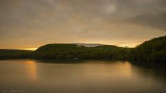 (smack53) Tags: smack53 sunset evening eveningsky paintedsky mountains reservoir monksville monksvillereservoir ringwood newjersey sky clouds springtime spring water lake nikon d100 nikond100
