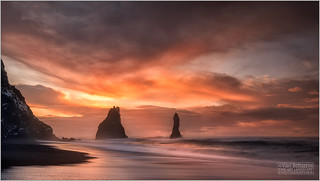 REYNISFJARA AT SUNRISE