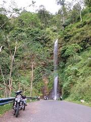 Naringul's Waterfall (Black_Claw) Tags: bandung westjava naringul water waterfall road plant forest bike motorcycle jungle indonesia samsungsmg6100 samsungj7prime