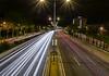 Camins de llum (Ramon InMar) Tags: light trails nocturna night long exposure llargaexposició cotxes cars barcelona nit noche