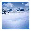 Blue Planet (gerainte1) Tags: lunalake torridon scotland mountains hasselblad501 portra160 film colour blue loch snow winter