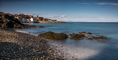 Kinghorn (ianrwmccracken) Tags: sunshine rock d750 landscape water nd nikkor2470mmf28 sea seaweed longexposure beach scotland nikon kinghorn pebble shore town fife seascape afernoon coast cokin nuance ianmccracken