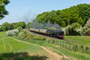 GCR 70013 with Diningtrain (Durk Houtsma.) Tags: gcr quorn steamtrain leicester 70013 loughborough greatcentralrailway woodhouseeaves england verenigdkoninkrijk gb