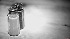 Everything Is Black and White (MBates Foto) Tags: availablelight blackandwhite existinglight foodandbeverage indoors monochrome nikkorlens nikon nikond810 nikonfx pepper salt spokane washington unitedstates 99203