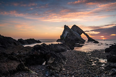 Bow Fiddle Rock (1 of 1) (iaincats123) Tags: sunrise bow fiddle rock moray scotland