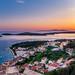 Sunset in the Hvar