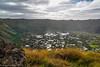 The Crater of Rano Kau / Кратер Рано Кау (Vladimir Zhdanov) Tags: travel chile polynesia rapanui easterisland sky cloud ranokau volcano crater nature landscape lake