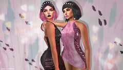 A Freshmen Generation Of Degenerate Beauty Queens (Hanna ☾ Luna) Tags: salt new store gacha gachagarden secondlife virtual hannahluna gown dress sheer fashion style event