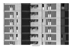 [ Lines ] (Marcos Jerlich) Tags: windows lines contrast facade architecture building urban city may flickr 7dwf bw blackandwhite bnw monochrome blancoynegro mono sorocaba brasil américadosul canon canont5i canon700d efs55250mm marcosjerlich