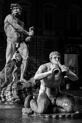 Night Monsters (Lars Ørstavik) Tags: fontana rome figures detail fountain piazzanavona