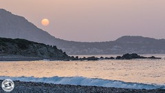 Sunrise Over the Mountains.. (Lauren Tucker Photography) Tags: greece rhodes sunrise europe kiotari lindos old town holiday trip summer spring may 2018 colour weather sun cloud canon 7d slr markii camera photographer photography photograph photo image pic picture copyright allrightsreserved ©laurentuckerphotography beach sea seaside visit landscape view