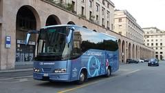 New Car Calipso Iveco (Lu_Pi) Tags: genova autobus bus minibus noleggio iveco newcar calipso genovarent