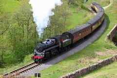 BR Standard 4MT No. 76079 (P.J.S. PHOTOGRAPHY) Tags: 4mt nymr darnholme 76079