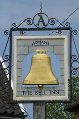 Bell Inn, Middleton (piktaker) Tags: suffolk pub inn bar tavern pubsign innsign publichouse adnams middleton bellinn