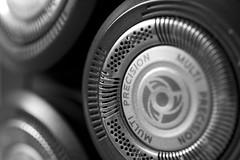 A Close Shave (steve_whitmarsh) Tags: macro closeup metal circle art abstract bw blackandwhite monochrome macromondays readyfortheday