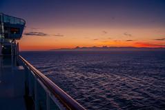 Sunset Coast (Tony Shertila) Tags: pool spain africa atlantic azura bar coast cruise cruiseship deck dock europe gibralta holiday morocco outdoor passenger people port ship straits sunset tourist transport vacation