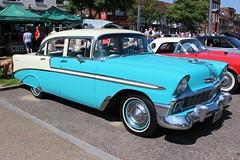 Chevrolet Bel Air (R.K.C. Photography) Tags: chevrolet belair classic american car 1956 baldock baldockclassiccarshow hertfordshire england unitedkingdom uk canoneos100d 224uxs