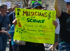 Musicians for science (afagen) Tags: washington dc washingtondc districtofcolumbia marchforscience sciencemarch science sign