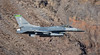 USAF Vermont ANG 158th Fighter Wing - General Dynamics F-16C - 87-322 (vegas av spotter) Tags: 87322 jedi transition rainbow canyon death valley national park california aviation general dynamics vermont ang usaf 158th fighter wing f16c aircraft airplane military