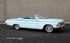 1962 Chevrolet Impala SS 409 Convertible (JCarnutz) Tags: 124scale diecast wcpd 1962 chevrolet impala ss409