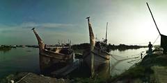 PANO_20170926_163401 (al_noman825) Tags: sky boat bangladesh mobileshot boatman
