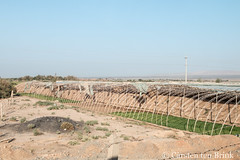 Agricultural structures on the road to Turfan (10b travelling / Carsten ten Brink) Tags: 10btravelling 2017 asia asian asien carstentenbrink china chine chinese iptcbasic prc peoplesrepublicofchina silkroad tarim tulufan turfan turpan xinjiang agriculture basin crops farming polytunnel tenbrink 中华人民共和国 中国 吐魯番