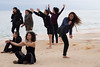 Barcelonetta (Sylvie Lebeuf) Tags: barcelone barceloneta espagne spain danse mer sea sylvielebeuf