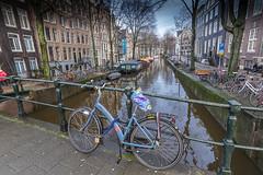 Canales-de-Amsterdam-2 (Fotoencuadre Miguel Alvarez) Tags: amsterdam canales hnda bicicleta calle ciudad