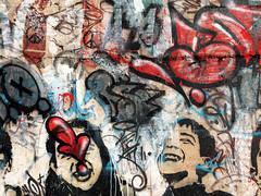 Vandalism Texture (BLIND (ELF CREW)) Tags: blindelf muralart graffiti streetart urbanart mixedmedia collaboration wormbrain portrait vandalism texture tag throwup irangraffiti persiangraffiti iranstreetart eastreetart iranurbanart iranianart persianart experimental گرافيتى