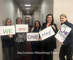 Philanthropy Team - We Are One May TSR