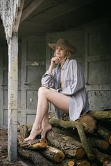 Lisa (juergenberlin) Tags: stetson girl sexy woman long legs beauty blond