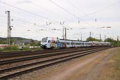DB Suwex Flirt met CFL Flirt (vos.nathan) Tags: db deutsche bahn flirt br 1429 baureihe chemins de fer luxembourgeois kiss 2300 trier hbf hauptbahnhof