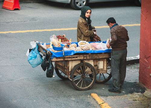 Street vendor, Istanbul