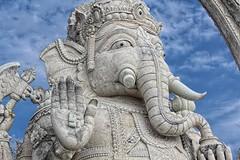 Ganesha statue, Menjangan Island, Bali (scinta1) Tags: bali menjangan island ganesha statue balinesehindu stonestatue stonecarving