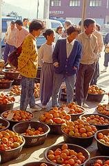 Market, Hadong, Kyongsangnamdo, Korea 9010.61n (Al Greening) Tags: korea market kam hadong