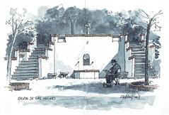 Quinta de los Molinos (P.Barahona) Tags: parques jardines fuentes quinta escaleras sombras