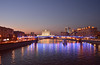 Smolensky Metro Bridge (あらいぐまラスカル) Tags: moscow モスクワ smolensky metro bridge russia москва россия spring sigma highspeed wide 28mm 118 af aspherical f18 nond