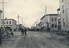 Dauphin - Burrows Avenue looking south (vintage.winnipeg) Tags: manitoba canada vintage history historic dauphin