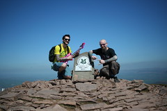 Pen y Fan 1 - 9 (bascat) Tags: bascat bas brecon beacons national park south wales 886 meters penyfan sunny day hot