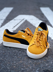 Puma Suede Classic Archive / Mineral Yellow - Puma Black. Style no. 365587_03. (High Water Media) Tags: shoes sneakers footwear apparel puma pumasuede product clothing urban fashion fashionphotography style streetstyle commercialphotography productshot street newyorkcity
