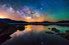 Eleven Mile Nights (Darren White Photography) Tags: milkyway colorado reflection starrysky