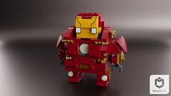 Hulkbuster Suit (ORION_brick) Tags: iron man suit lego hulk hulkbuster ultron age infinity war brickheadz