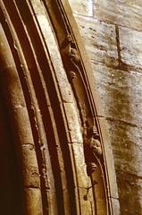 Conques (Aveyron) (Cletus Awreetus) Tags: france massifcentral aveyron conques architecture abbatiale église artroman sculpture porche rouergue