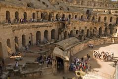 Amfiteatar u El Jemu (Thysdrusu) / Amphitheatre in El Jem (Thysdrus) (Vjekoslav1) Tags: thysdrus eldjem eljem amfiteatar amphitheatre rome roman rimski drevni ruins ruševine ancient africa afrika mediteran tunis tunisia tunisie