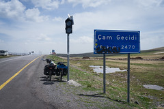 Mountain pass to Ardahan