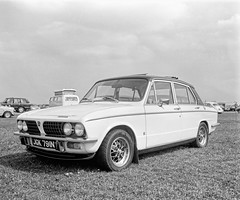 Sprint (David at Redshift Media Production) Tags: bicester scramble classic cars pentax67 ilford fp4 sportscars motorbikes film photography davidthrowerphotographer redshiftphotography wwwdavidthrowerphotographycouk wwwredshiftphotographycouk blackandwhite