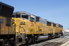 UP 2286 (imartin92) Tags: berkeley california unionpacific railroad railway freight train emd sd70m sd60m triclops locomotive