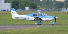 Cirrus SR22 GTS N122ZT Lee on Solent Airfield 2018 (SupaSmokey) Tags: cirrus sr22 gts n122zt lee solent airfield 2018